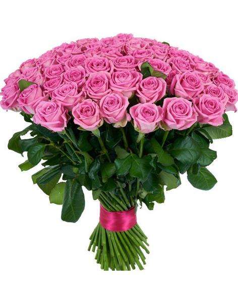 Bouquet 101 pink roses: delivery of flowers in
