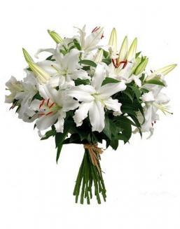 Bouquet of 15 lilies | Delivery and order flowers in Kostanay