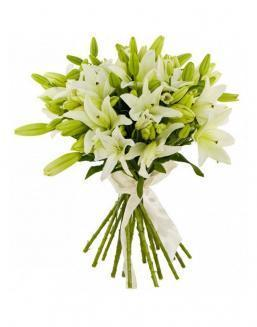 Bouquet of 25 lilies | Flowers to mother