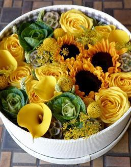 Yellow Heaven | Roses to mother,to fiancee flowers