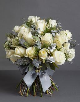 Chic white bouquet | Delivery and order flowers in Kostanay