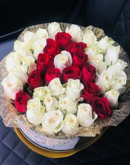 letter rose | Delivery and order flowers in Kostanay