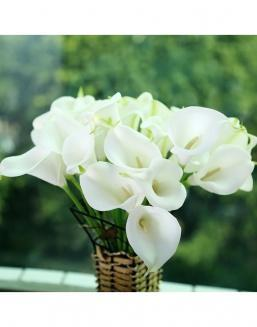 Bouquet of 51 white callas | Delivery and order flowers in Kostanay