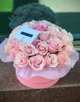 Original box with roses | Roses to men,to mother flowers