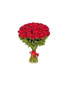 Bouquet of 51 red roses | Roses to mother,to fiancee flowers