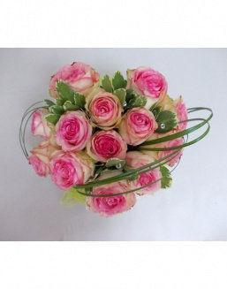 Gift Tenderness set of pink roses | Roses to mother,to fiancee flowers