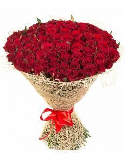 Bouquet of 101 red roses | Roses